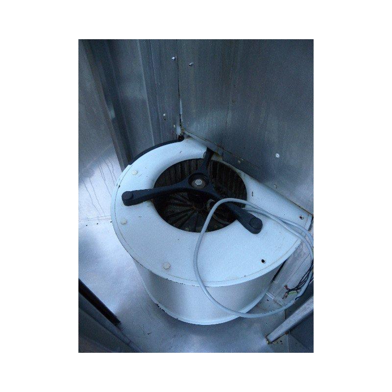 Abzugshaube / Dunstabzugshaube Edelstahl mit Motor und Beleuchtung