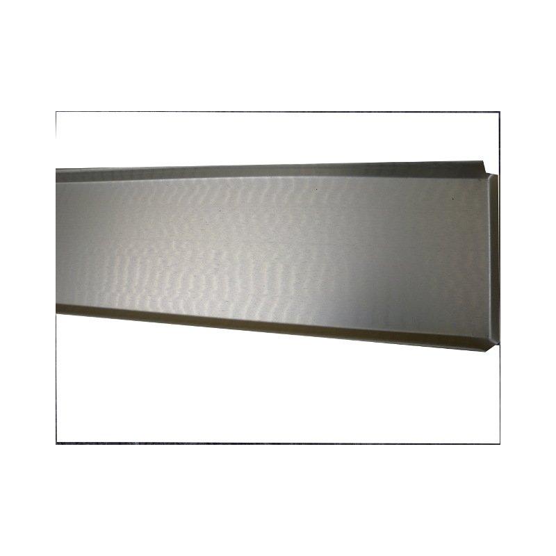 Aluminium Ausstellblech 800x120 mm Gold eloxiert