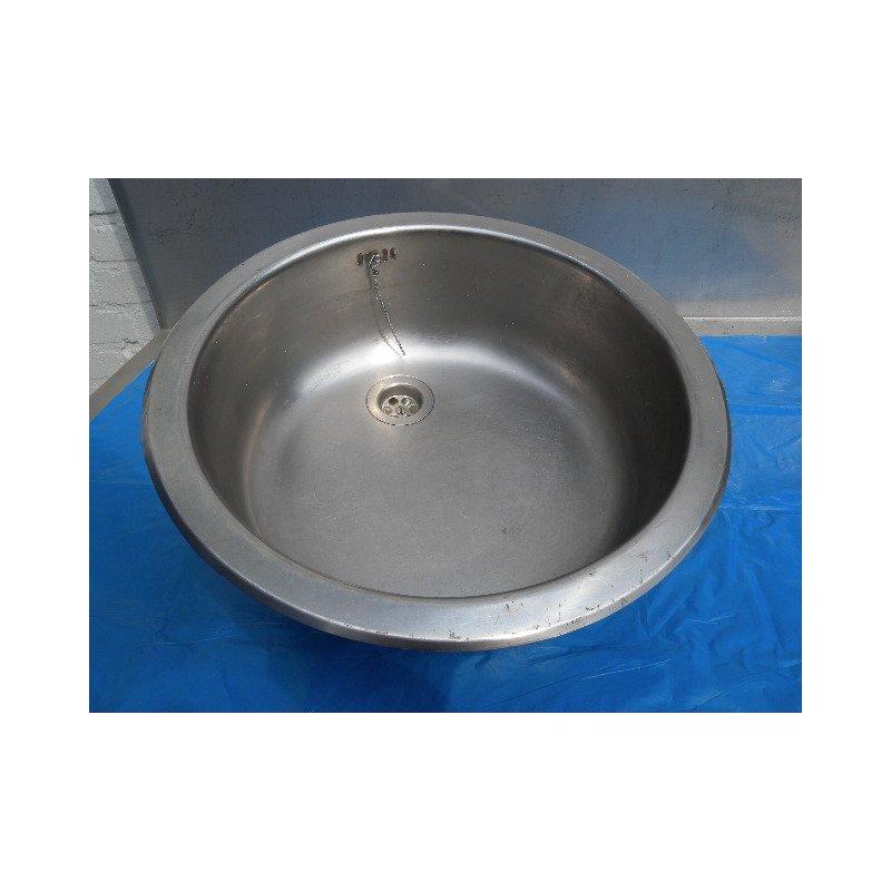 Einbauwaschbecken Edelstahl einbauwaschbecken edelstahl ø außen ca 45 cm
